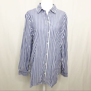 Old Navy Button Down Long Sleeve Shirt, Size Large